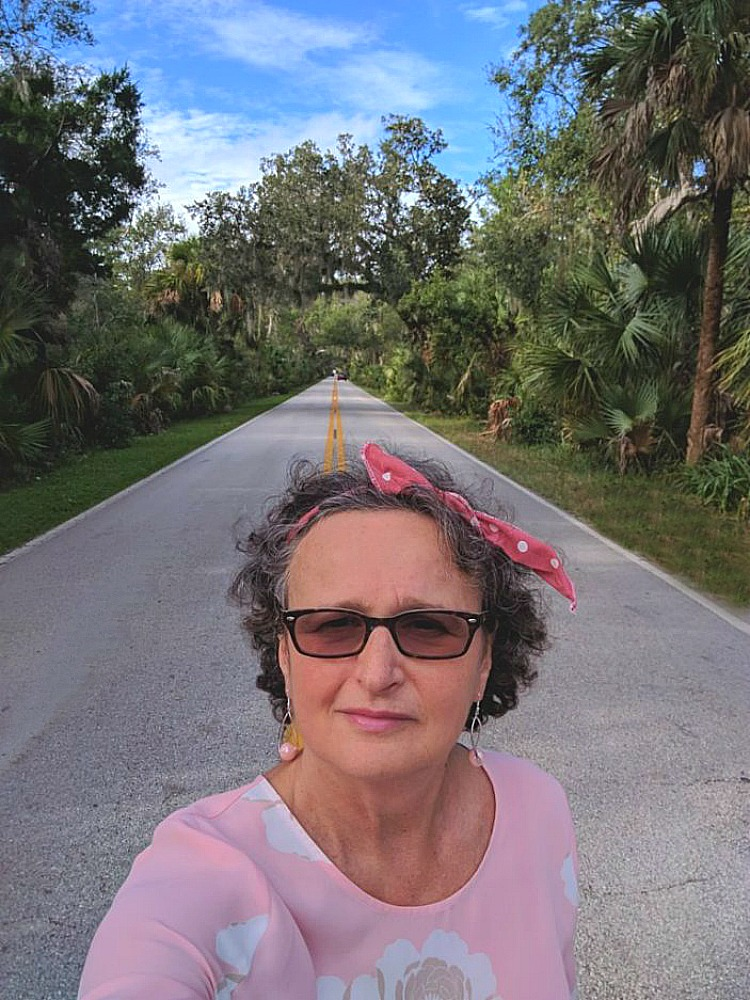 Living and traveling with cancer. Florida road.