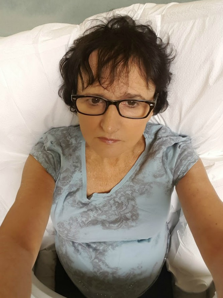 Living and traveling with cancer. First chemotherapy.