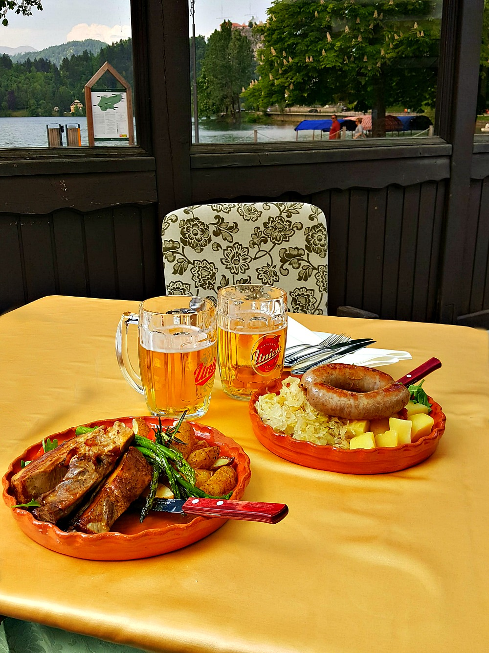 Dinner at Guest House Mlino on Lake Bled