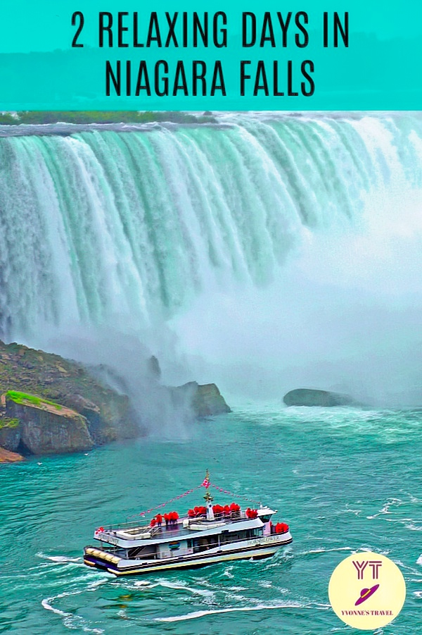 Spend two relaxing days in Niagara Falls Canada. See the falls and visit Niagara botanical gardens. Also discover Niagara as couples getaway. #niagarafallscanada #2daysinniagara