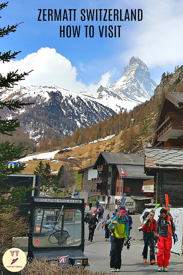 Visiting Zermatt Switzerland? Learn how to plan your trip and what to do there. Discover Matterhorn Zermatt, the most photographed mountain in the world! #ZermattSwiterland #MatterhornZermatt