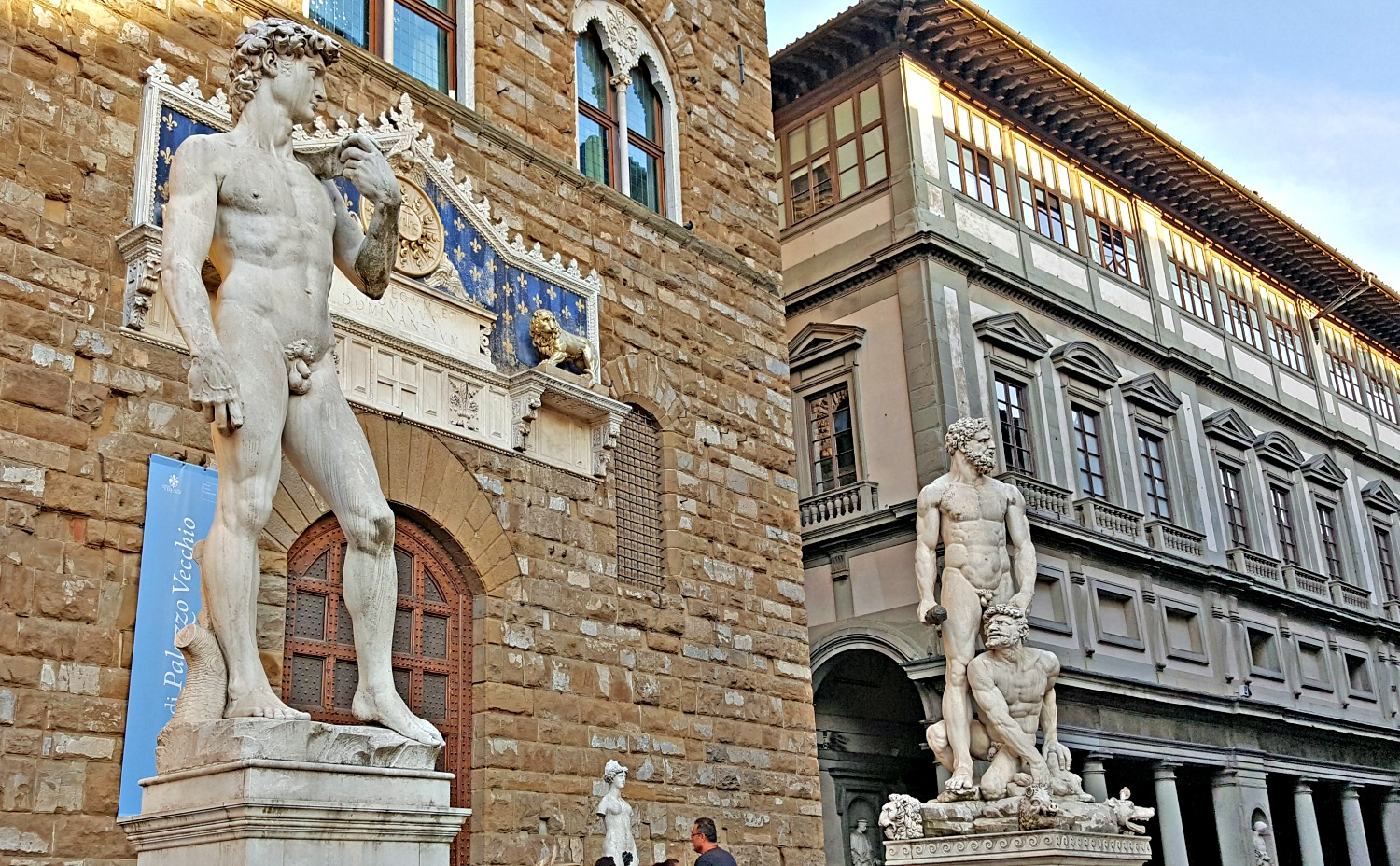 The most beautiful square in Florence - Piazza Della Signoria.