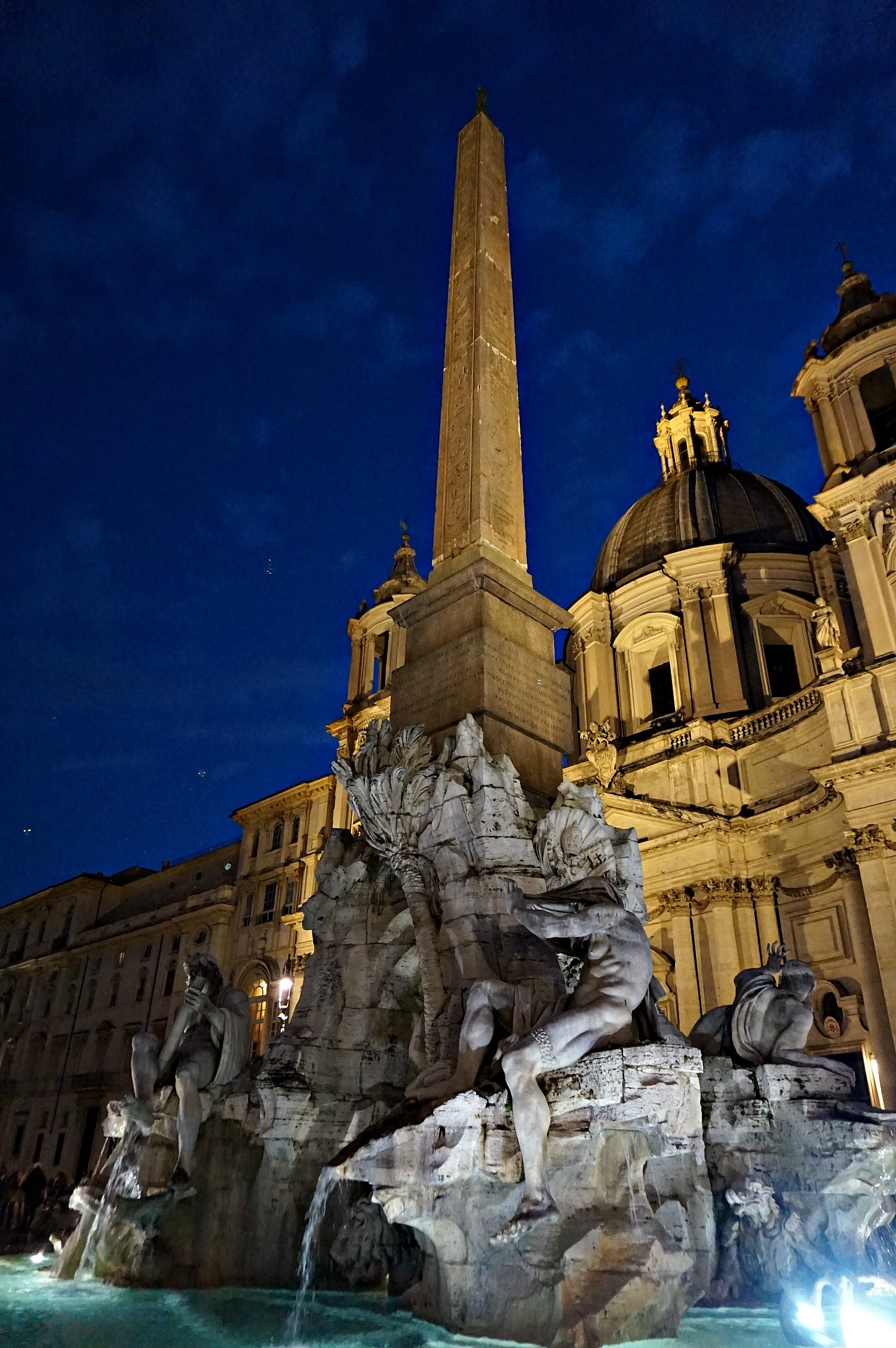 Magic of Piazza Navona at night.
