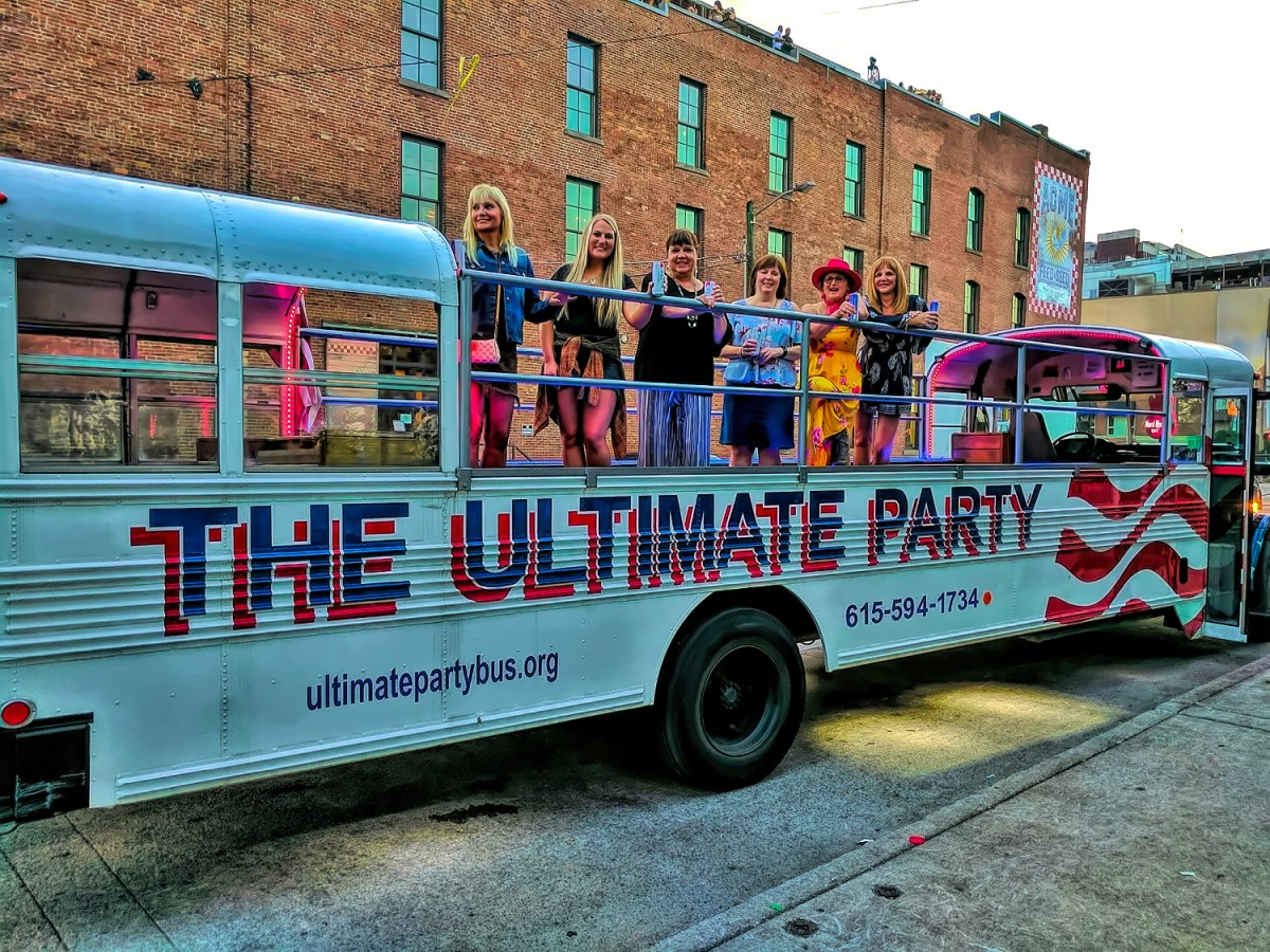 Nashville Tennessee. Party bus.