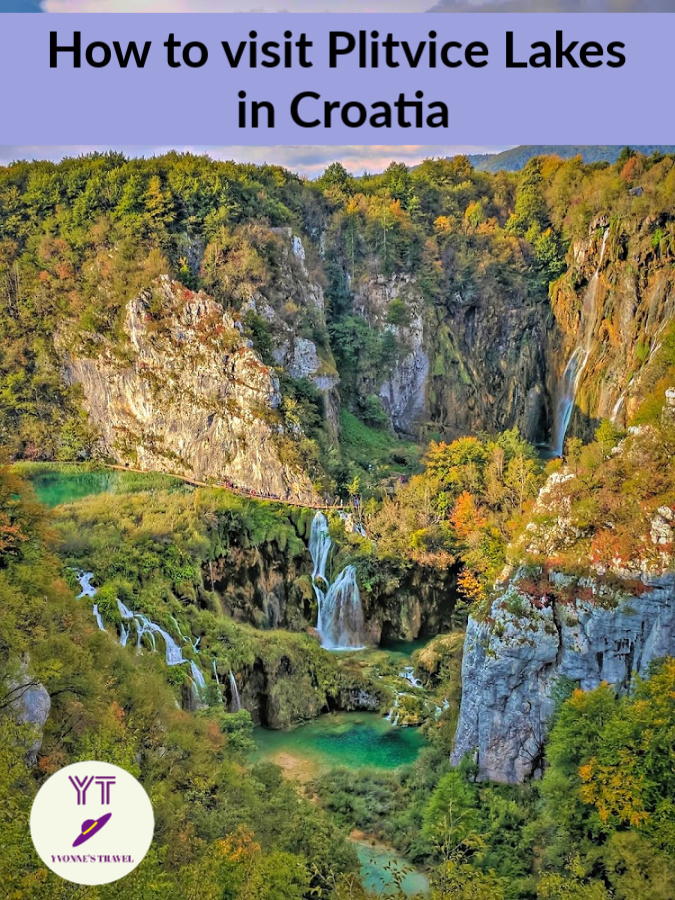 Plitvice Lake, Europe's top natural attraction.