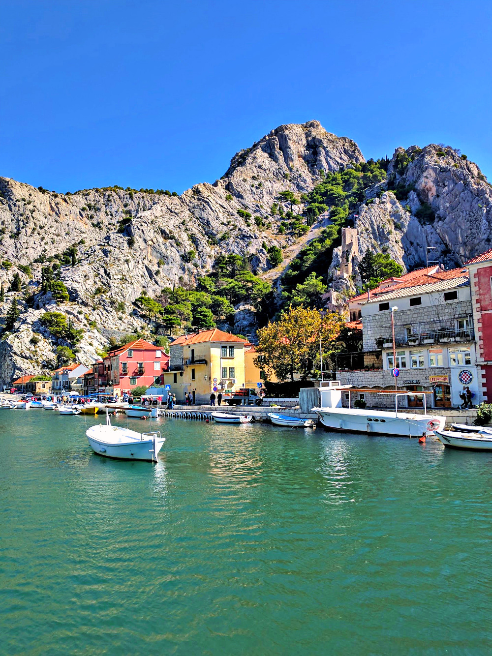 Road trip Croatia. Omis delivers on beauty and activities.