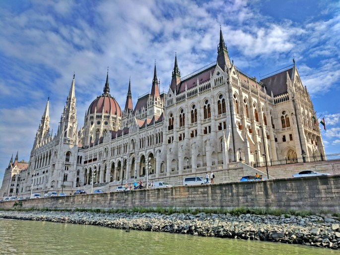 Hungarian Parliament building .