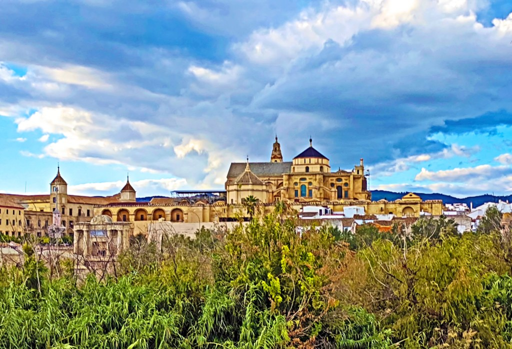 Southern Spain itinerary. The views of old town Cordoba in Andalusia.