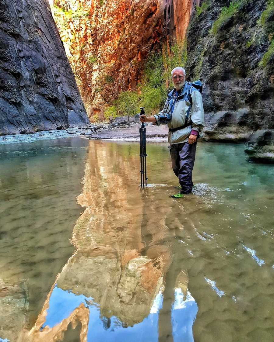 My friend, Jim, took lots of great photos in the Zion Canyon