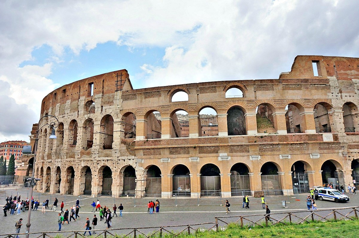 Colosseum is the number one attraction in Rome.