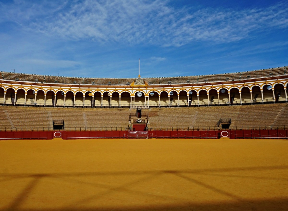 European Vacations. Best cities to visit. Seville Bullfighting Ring