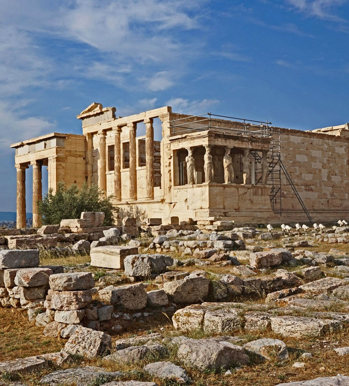 The Temple of Athena Nike is a temple on the Acropolis of Athens, dedicated to the goddess Athena Nike.