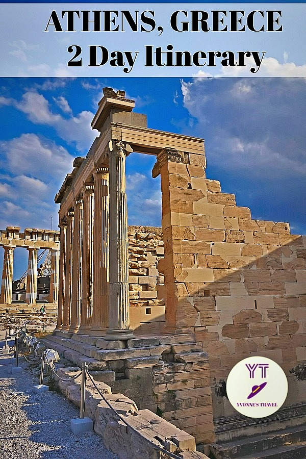 Only 2 days in Athens, Greece and wondering how to visit? Here is the step by step itinerary for Athens, with Acropolis, Acropolis Museum, and more.