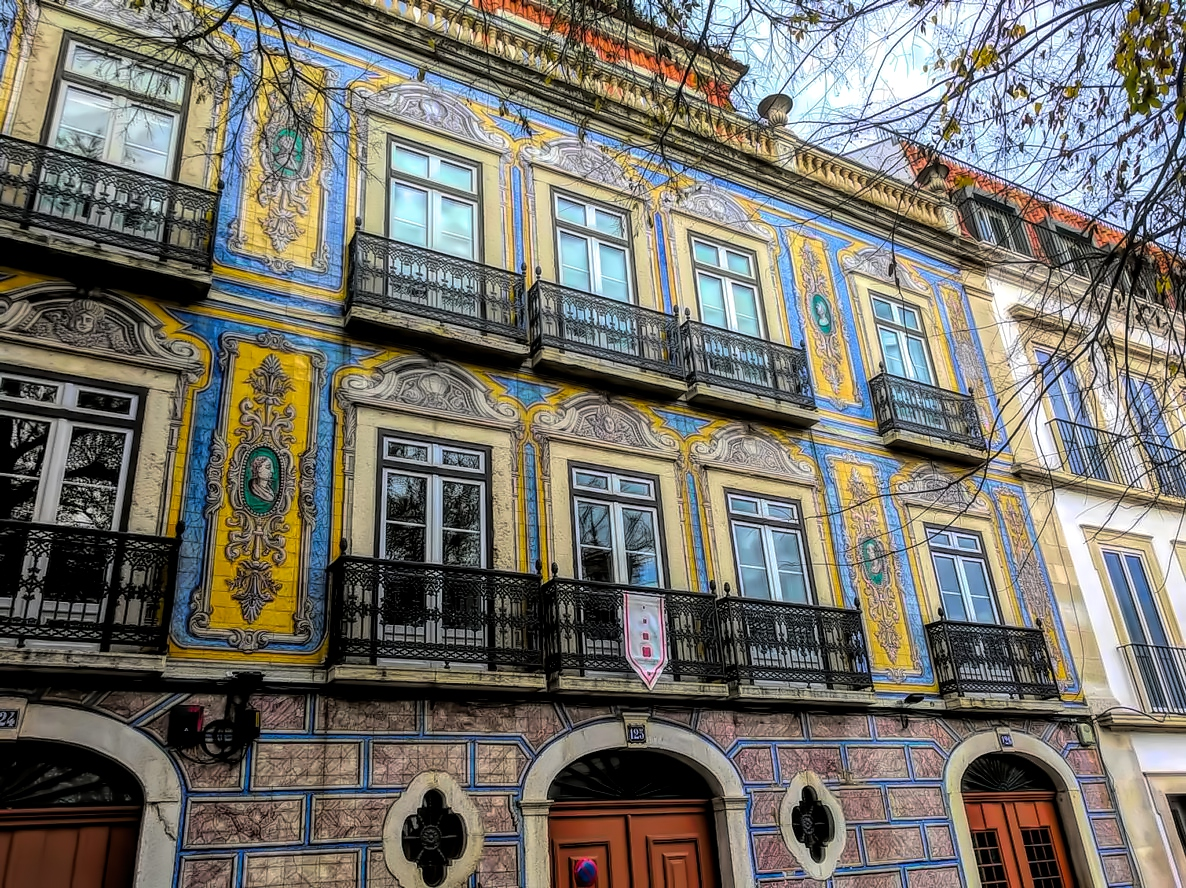 With colorful tilled buildings, Lisbon will make you feel cheerful.