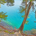 The Green Lakes State Park appeals to families with children with its nice beach and easy hiking trails.