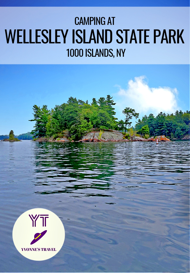If you love camping, Wellesley Island State Park delivers! Located on St. Lawrence River, this stunning park offers over 400 sites, many of them waterfront!