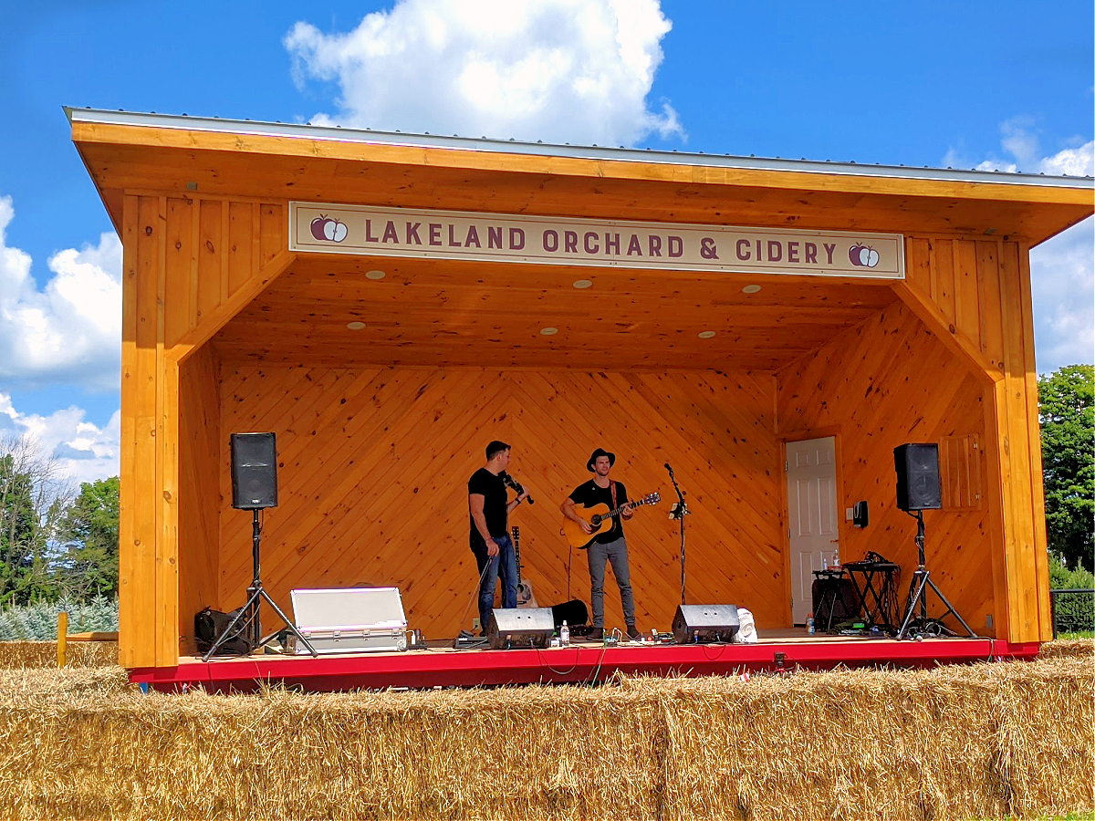 Lakeland Orchard & Cidery. Live music.