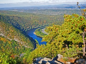 Hiking Mount Tammany is not easy but the views are worth it.