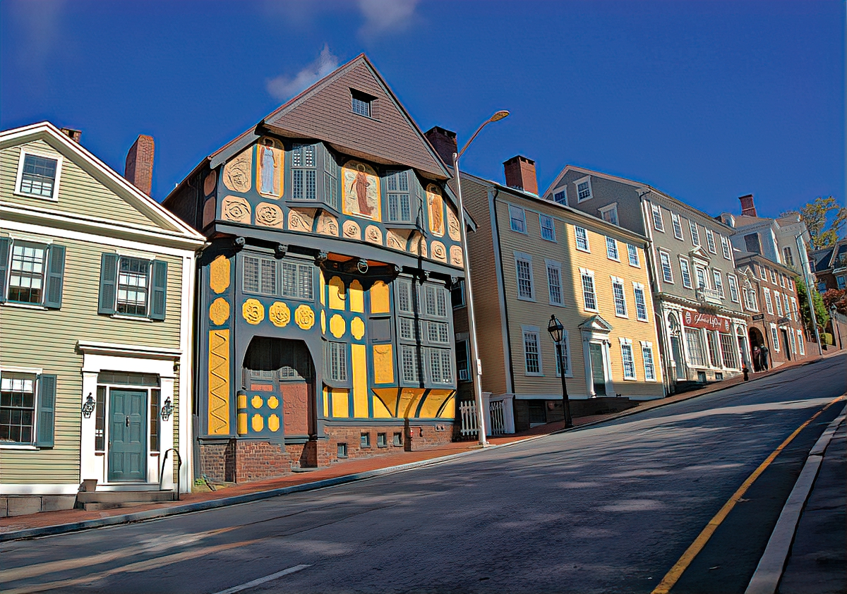 Best things to do in Providence, RI. Thomas Street.