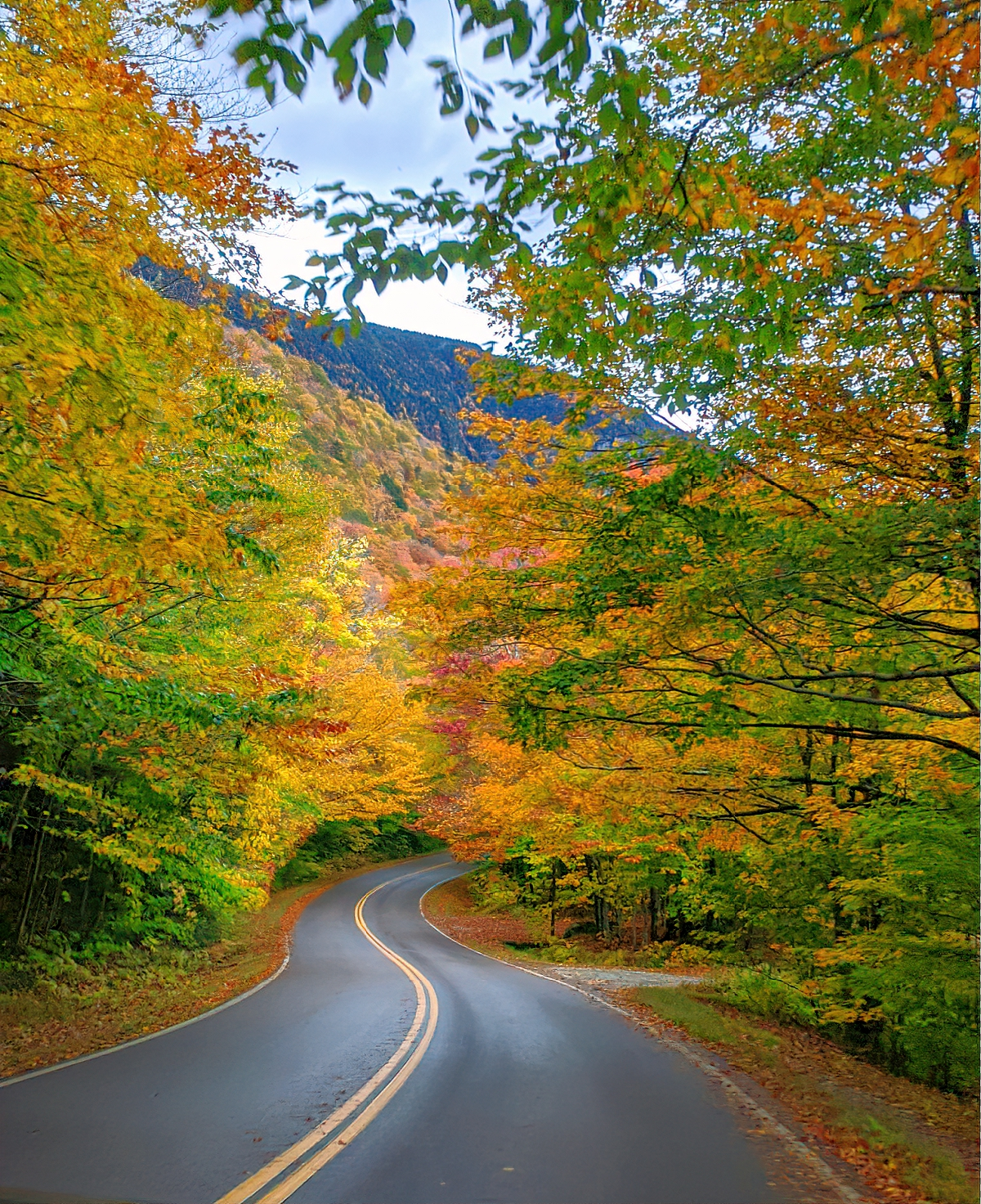Smugglers' Notch drive is one of the most scenic drives in the Northeast.