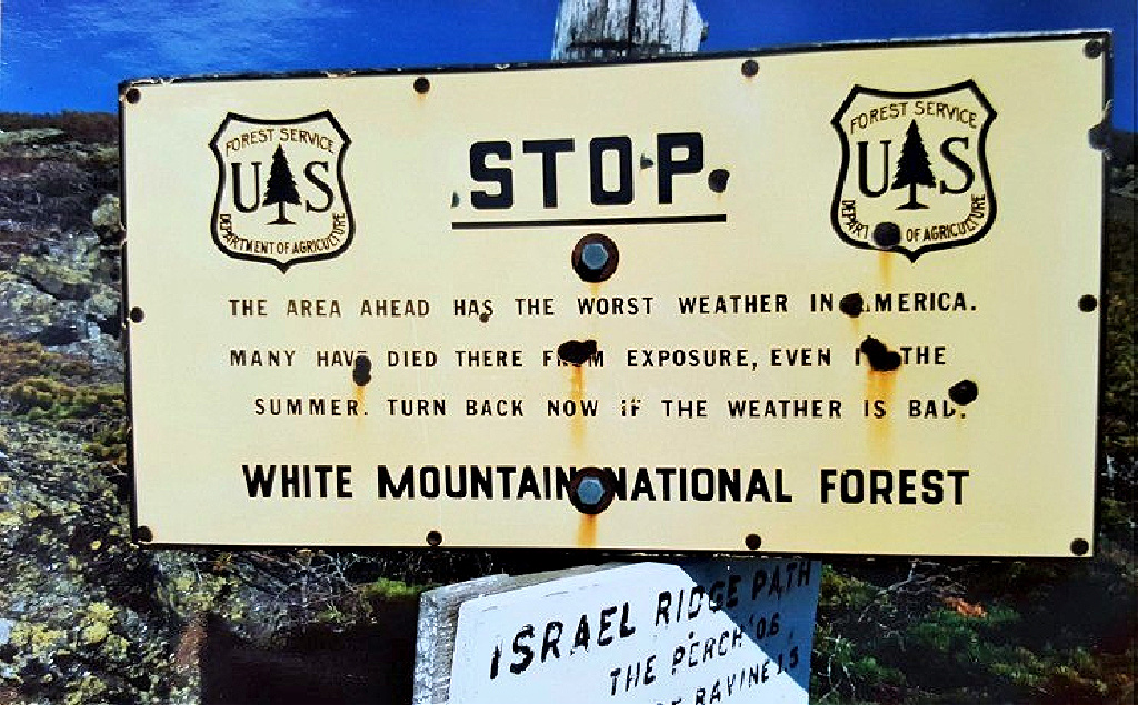 33 years ago when I hiked Mount Washington, I was completely unaware how dangerous the mountains could be.