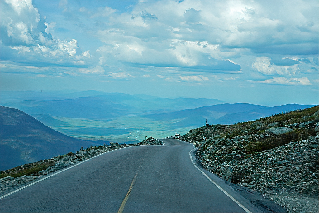 Driving to the top of Mount Washington is not for the faint of heart.