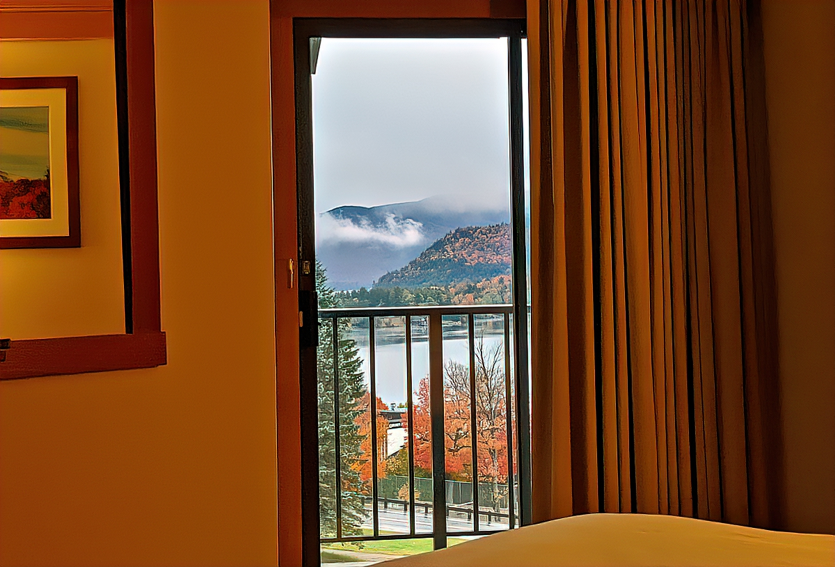 Crowne Plaza Lake Placid. A room with a view and balcony was always my priority, and that is even more important now.