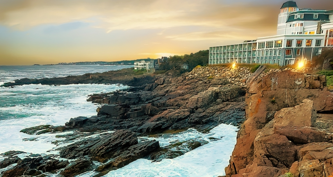 Cliff House Maine looks beautiful from any angle.