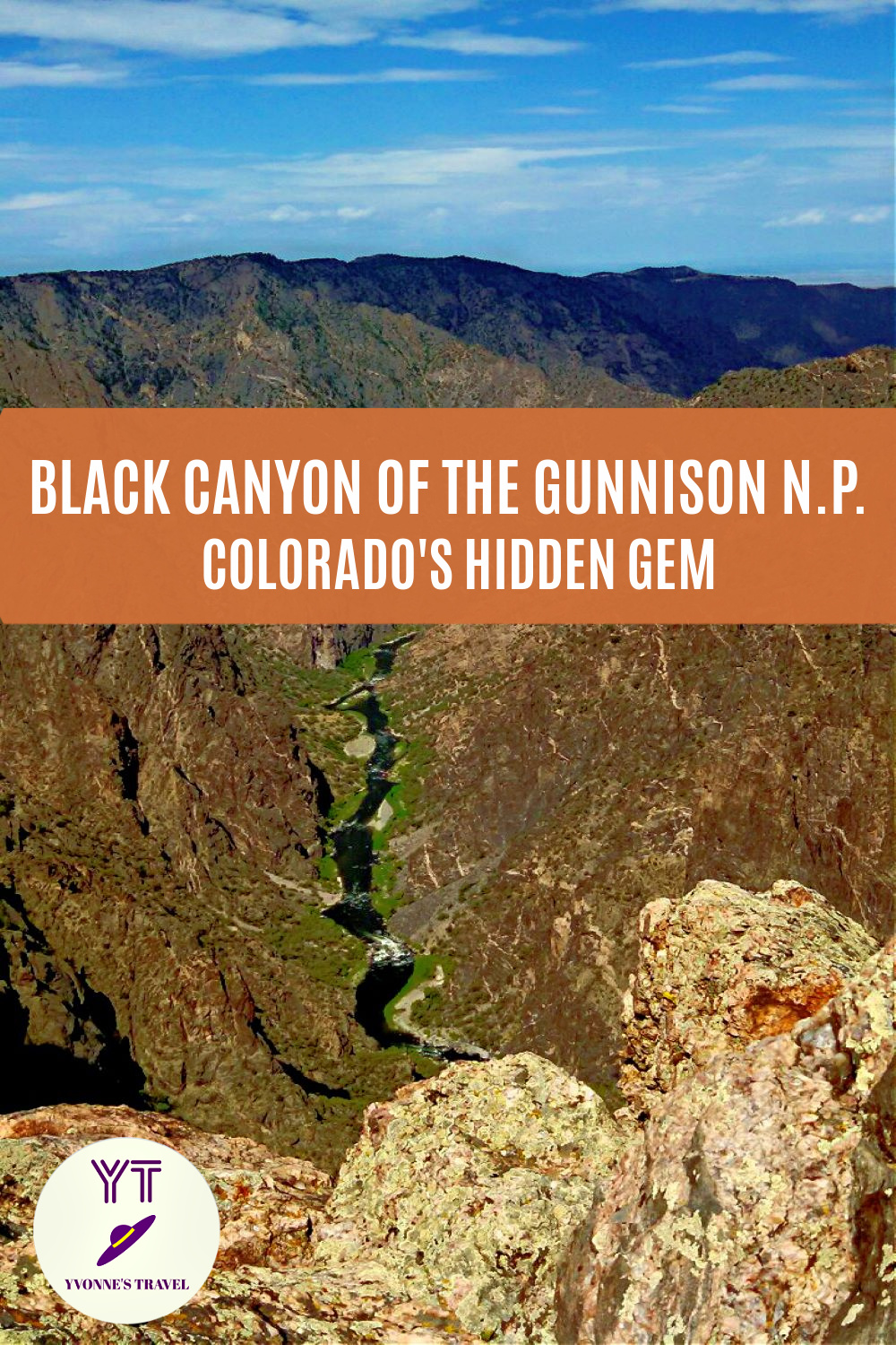 Discover Black Canyon of the Gunnison National Park, also called Black Canyon of Colorado, and see why it should be on your bucket list.