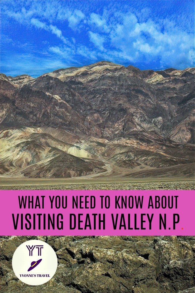 Death Valley National Park in Southern California is a fascinating travel destination, but before you make plans to visit it, be aware that there is a reason behind the park's name. This is where the hottest temperature was ever recorded in 1913 at 134 degrees! And in recent years, this record is often being challenged. The weather there could be so extreme that outside activities can put you in danger. Even your vehicle may not be able to tolerate the heat. Here are things to know about Death Valley to plan an enjoyable visit. #whatyouneedtoknowaboutdeathvalley #deathvalleynationalpark #californianationalparks