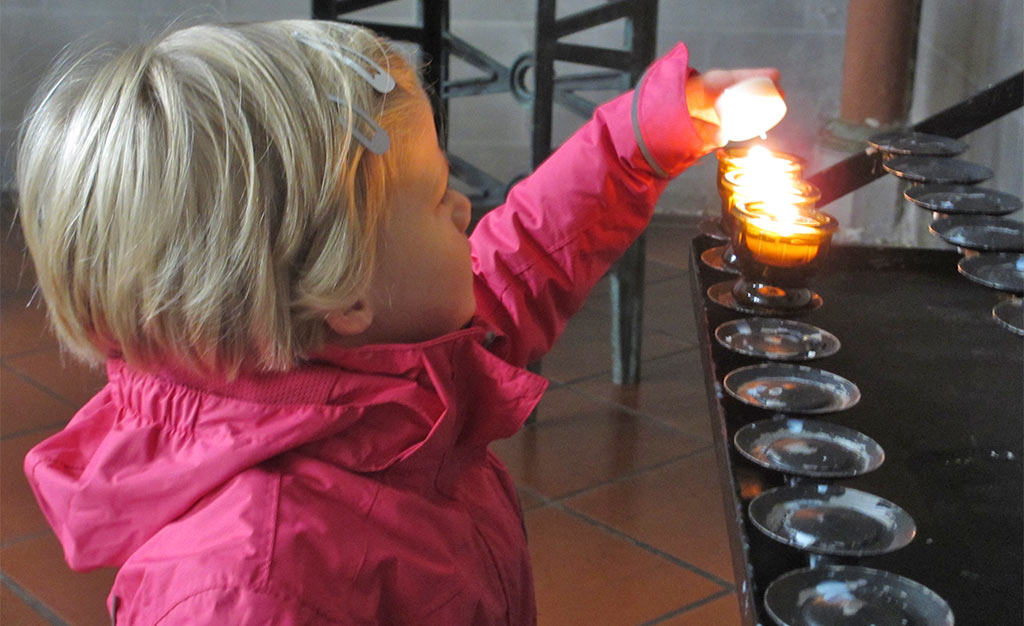 Kids in de kerk