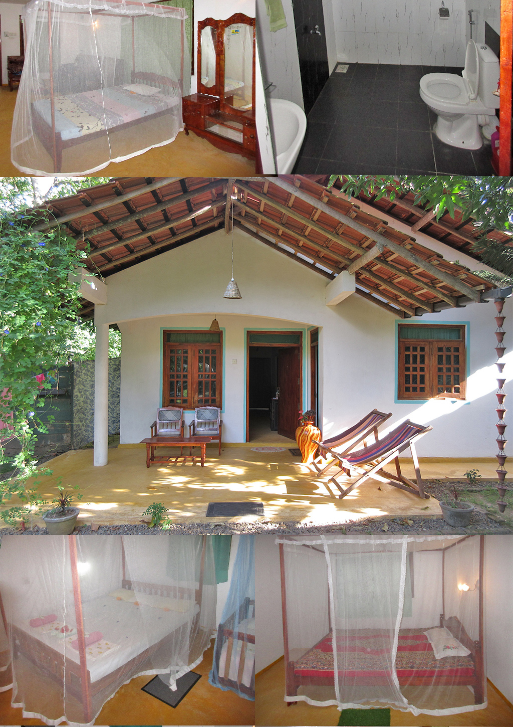 Garden Cottage Hideaway Tangalle Sri Lanka accommodatie