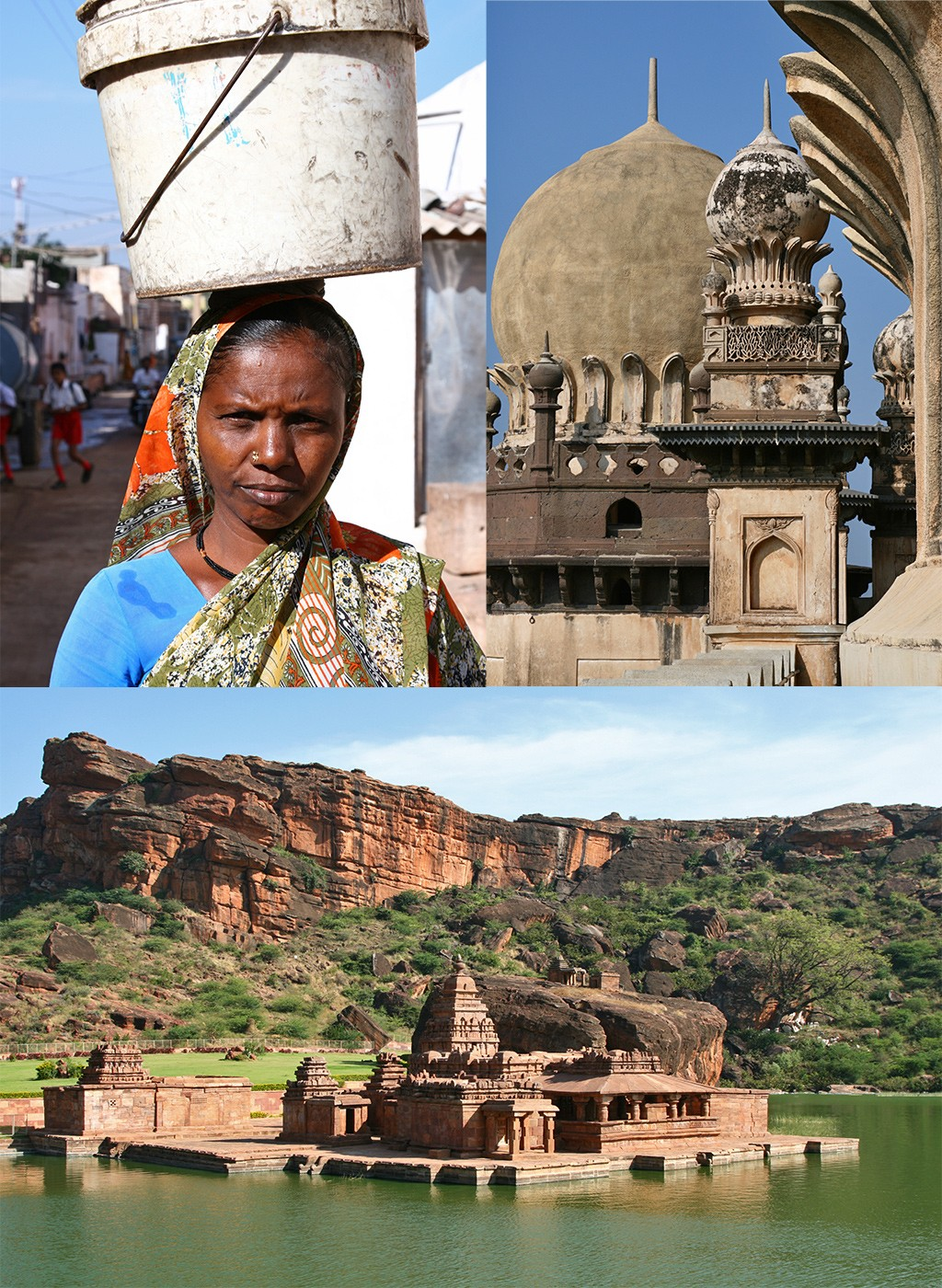 backpack route India zuid - off the beaten track