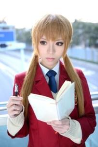 Yui as Shizuku Mizutani (Tonari no Kaibutsu-kun)