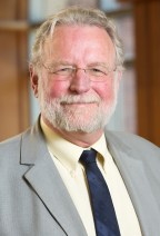 A photo of Pete Hutchison taken in the University of Michigan School of Public Health