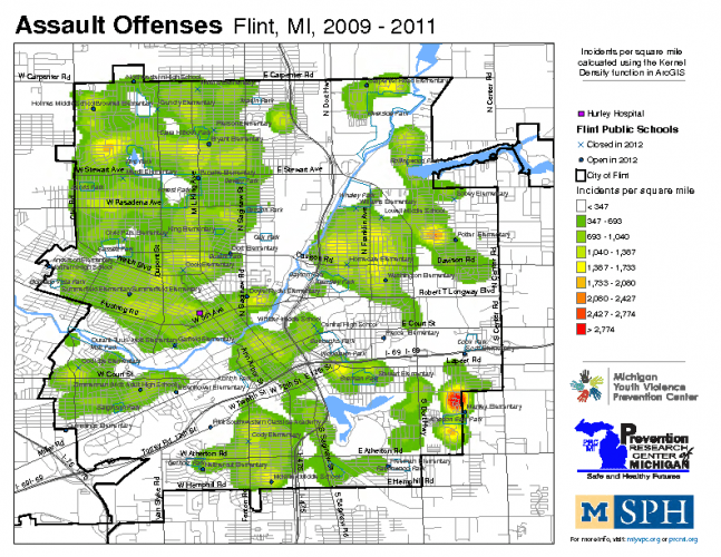 Assault Offenses (2009-2011)