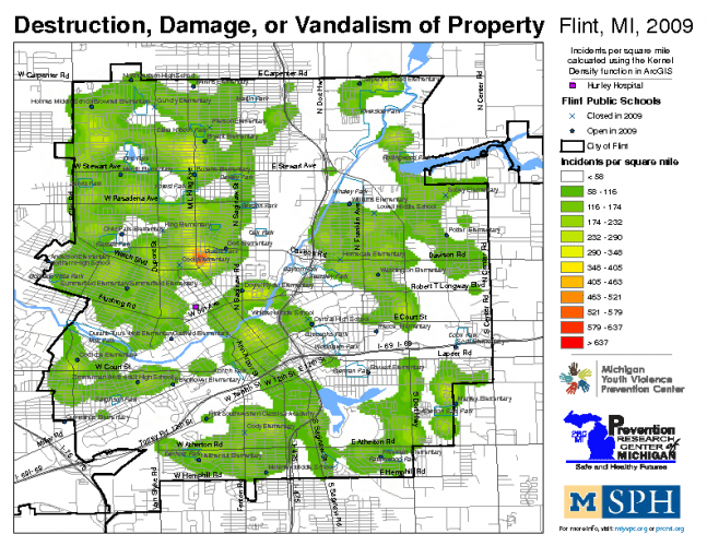 Destruction, Damage, or Vandalism of Property (2009)