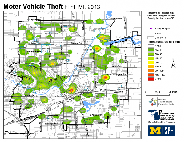 Motor Vehicle Theft (2013)