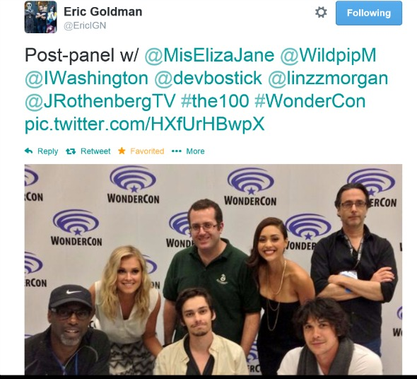 the 100 post panel