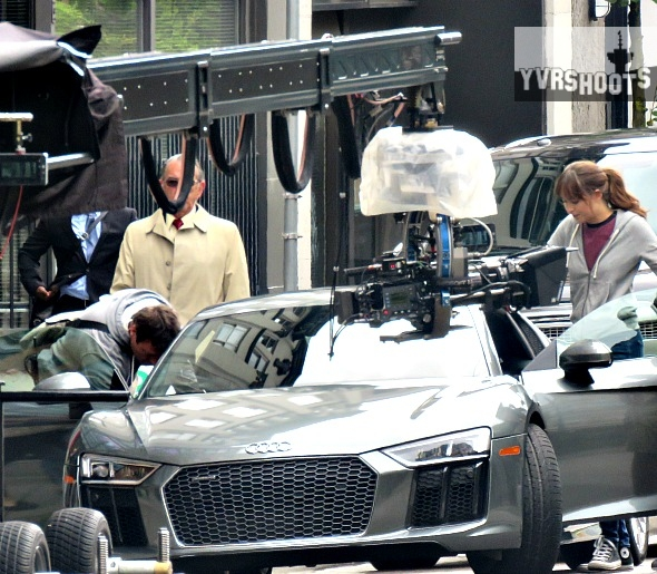 SHOOT FIFTY SHADES FREEDs Ana Dakota Johnson Gets Ransom From - Audi car in 50 shades of grey