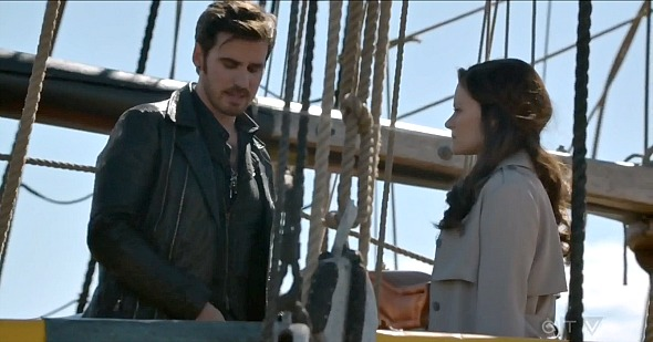 SHOOT: ONCE UPON A TIME's Hook (Colin O'Donoghue) & Belle ... Emilie De Ravin Once Upon A Time Tumblr