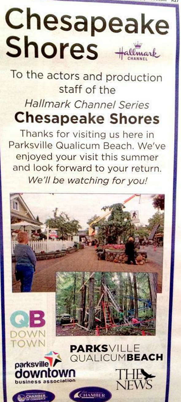 chesapeake shores ad