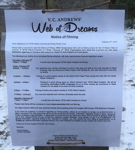 VC Andrews WEB OF DREAMS In & Around North Langley's Derby Reach Park