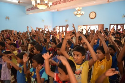 India Outreach April 2017