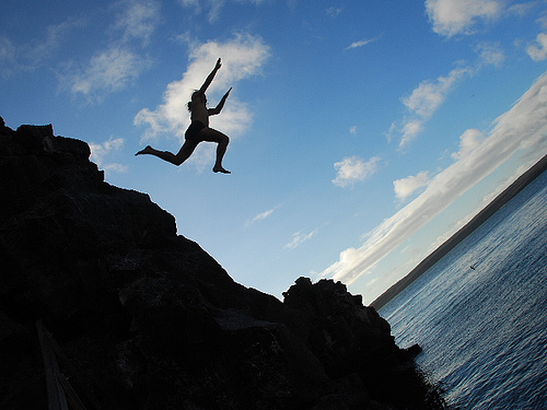 Jumping-Off-Cliff