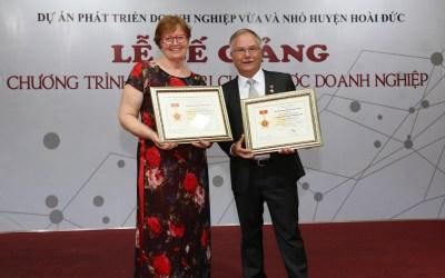 HanoiSME Honors YWAM Mercy Vietnam
