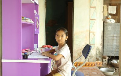 Education Assistance Impact: Student's Wish for New Textbooks & Schoolbag