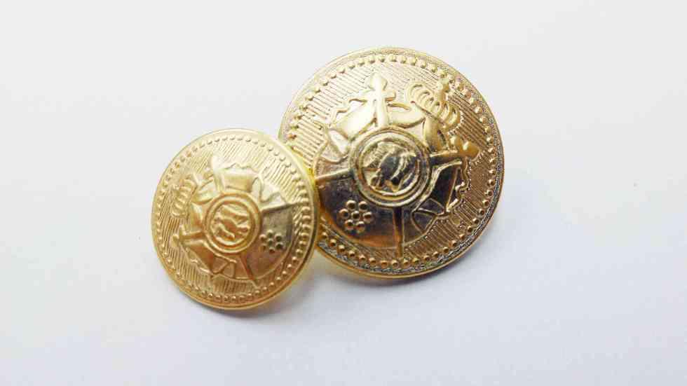 Metal Blazer Buttons - BZ105
