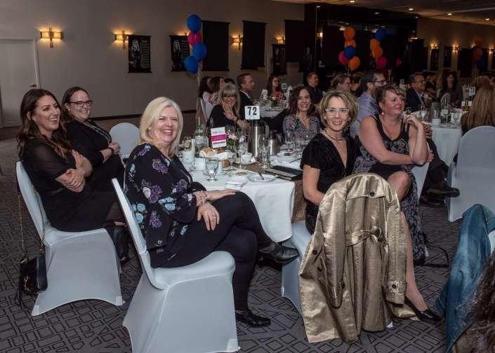 Guests enjoying Nutrien YWCA Regina Women of Distinction Awards 2019