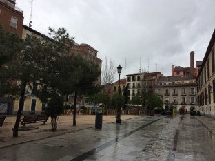 Rainy Days in Madrid